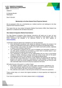 thumbnail of Membership to the New Zealand Panel Physician Network
